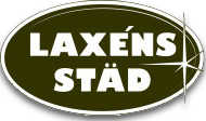 Laxén Städ & Fönsterputs Logo