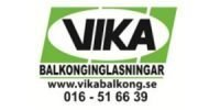 Om oss företag Vika Balkonginglasningar Logo